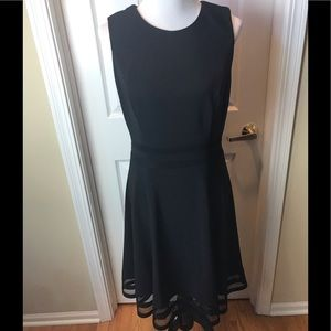 White House Black Market |  Dress, Black, Sz 10
